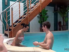 I had vacation in my own small spa center and I was chilling out close to the swimming pool. I wasn't alone, but I had nothing against it, with me was couple of beautiful people. I was enjoying ...