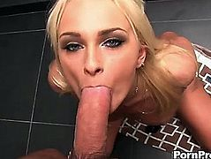 A hawt and coarse scene with the glamorous golden-haired ivana sugar