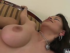 Evie delatosso enjoys being drilled hard