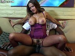 Rio Likes Young Black Dick