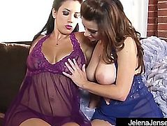 Penthouse pet jelena jensen massages breasts w taylor vixen!