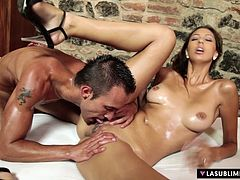 Lasublimexxx - Kitty Jane gets fucked after oiled massage