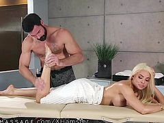 Snotty Latina Put in Her Place & Squirts for Hung Masseur!