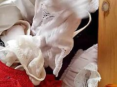Sexy wife's panty drawer