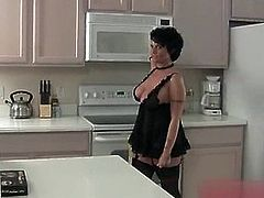 Lingerie Swedish Busty Stepmom
