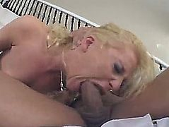 Gaping backdoor in anal banging movie scene with blond doxy aurora snow