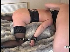 Extreme and complete session with 44 years old slav housewife Ann. I fist her wet dirty cunt, I spank and fuck her mature whore ass.