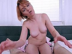 Horny Stepmom Marie Mccray Gets Son To Jerk Off & Fuck Her