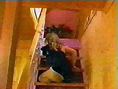 Jacklene triple amputee climbing stairs
