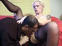mature double vaginal fisting