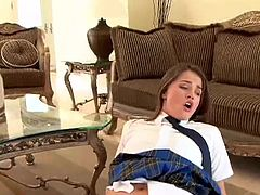 Tori Black useless schoolgirl fucked real hard and Cummed!