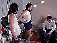 Sex twins mea melone &fearsome wendy moon hard fuck &fearsome foot fetish