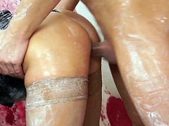 Kinky Rihanna Samuel and other hot girls get their wet cunts fucked