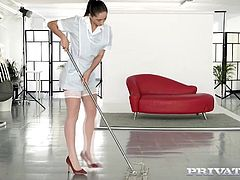 Private.com The maid in anal threeway