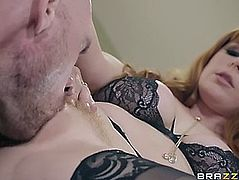 Penny pax acquires her holes licked by johnny sins
