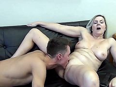 Stepmom & Stepson Affair 100 (Watching Porn with Mom)