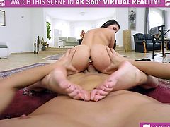 VR PORN- Lucia Denvile Get Penetrated In The Back By A Big Cock