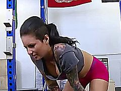 Christy Mack seduces trainer!!!!!