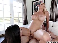 Hot blonde milf cheating and taboo charming Make Me