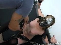 Pussy punishment and squirt