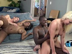 Two best girlfriends arrange dirty swinger party with their husbands