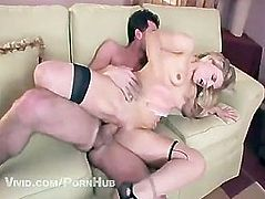 James Deen Slamming One of The Russo Twins