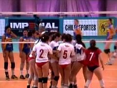 Voleibol chileno U Catolica vs Boston 2006 (bikini)