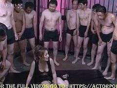 Aiko Nagai's Prison Bukkake Creampie Facefuckfest (Uncensored