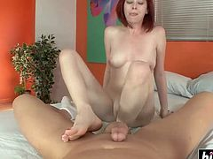 Sexy footjob with amazing Zoey Nixon