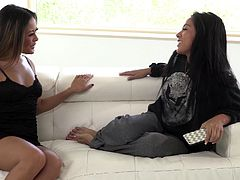 Kaylani Lei and another girl know how to please one another