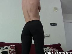 These yoga pants dont leave much to the imagination JOI