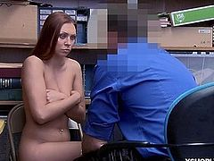 Ornella Morgan goes cock riding on top of the LP Officer