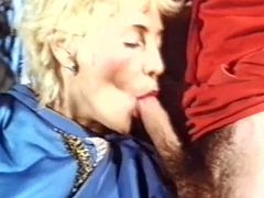 Marina Lotar sucking cock and eating pussy