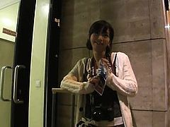 PublicAgent Tiny Japanese pussy filled with big dick take 2