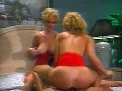Nikki Shane, Crystal Wilder and Peter North