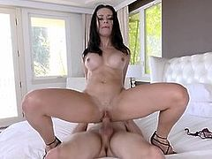 Latina Stepmom Lets Stepson Fuck Her After He Takes Boner Pil