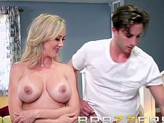 Brandi Love Lucas Frost - Making A Mess On Stepmom- Hot milf - Brazzers