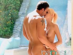 Erica Fontes Rocco Reed - Teen has a shower fantasy - BABES