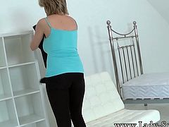 Housewife Taped Bound & groped Hard !!!!