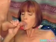 More ladies who take Cum In Mouth.