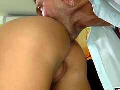 Black Angelica is horny as hell and ready to take that big cock in every hole she can Watch her get fucked real hard until theres cum dripping from her mouth