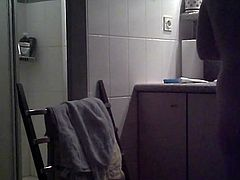 In the bathroom 2