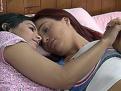 Jayden cole and violet starr have lesbo sex