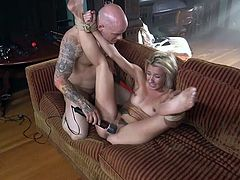 bound londe gets fucked hard