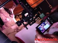 Great public foursome by Exoticum's pornstar at SEB 2016