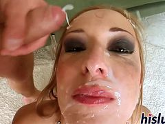 Ravishing starlet pleasures multiple massive rods