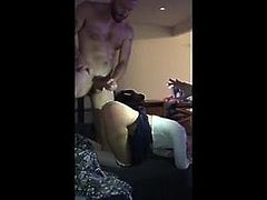 Submissive Slut gets slapped & brutal fucked in Gangbang