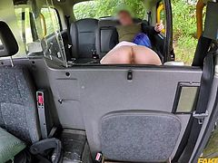 I do not know whether she was the initiator of this outrageous sex session or not, but we have what we have. First, the horny driver licked her juicy cunt, before she sucked his long dick. Then, this punk beauty climbed on top and gave her man a wild pussy ride...