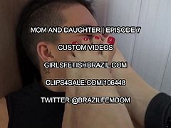 Mom and Daughter Foot Domination and Deep Feet - Episode 7