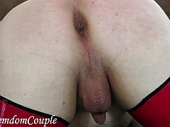 FFemdomCouple - Spanking and fisting session with Goddess